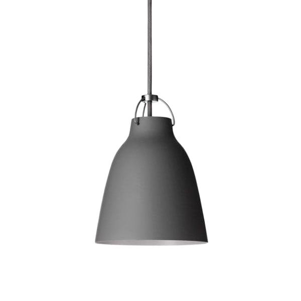 Fritz Hansen Lampada Caravaggio P1, grigio scuro opaco