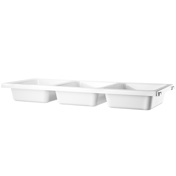 String String bowl shelf, white