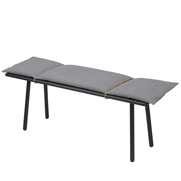 Skagerak Georg bench, black