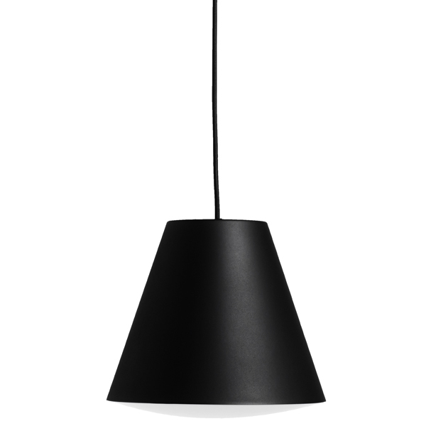 Hay Sinker pendant, small, black