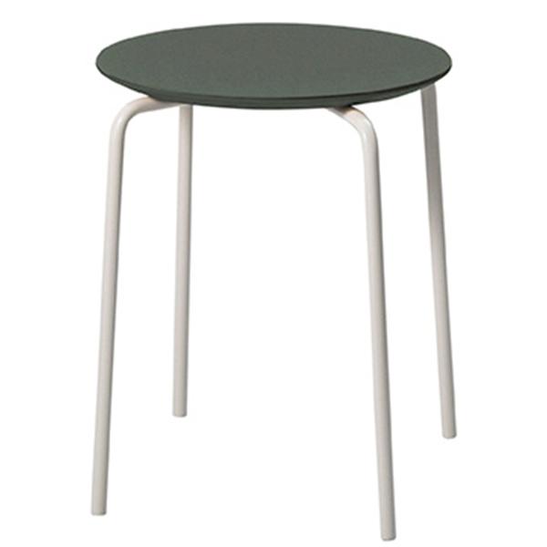 Ferm Living Herman stool, green-light grey