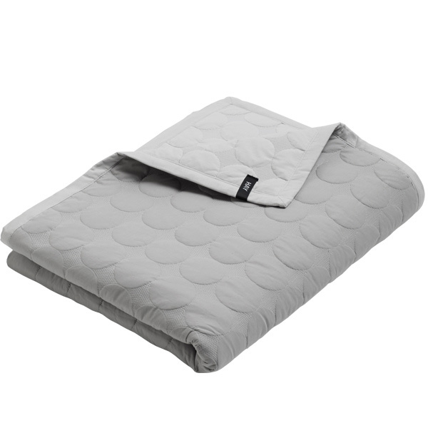 Hay Mega Dot bed cover, light grey