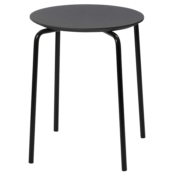 Ferm Living Herman stool, charcoal - black