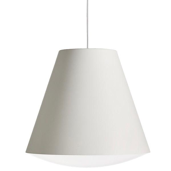 Hay Lampada Sinker, grande, bianca