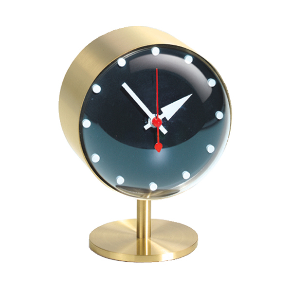 Vitra Night Clock, brass