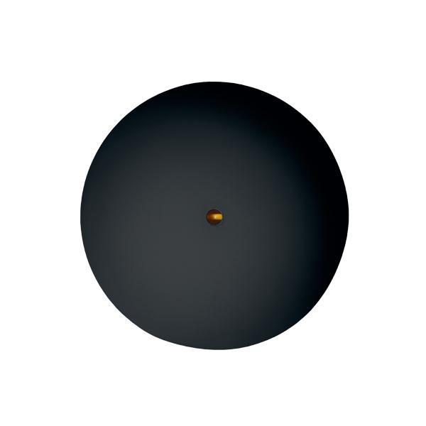 CableCup Rosone per lampada CableCup, nero