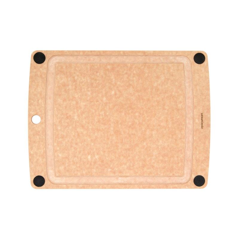 Epicurean All-In-One cutting board 37 x 28,5 cm, natural