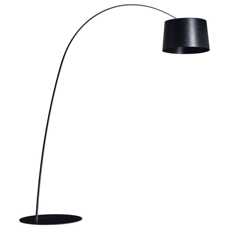 Foscarini Twiggy floor lamp, dimmable, black