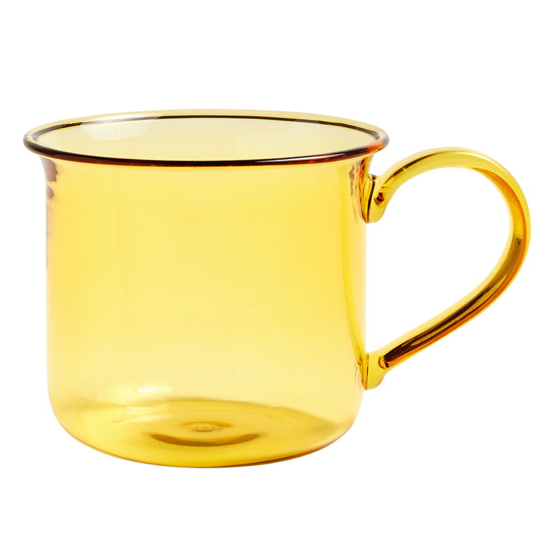 Hay Glass cup, yellow