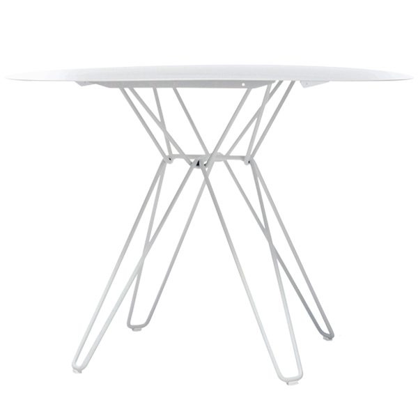 Massproductions Tio dining table, white