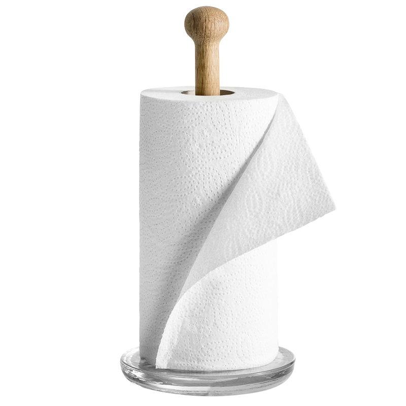 Oak Kitchen Paper Holder