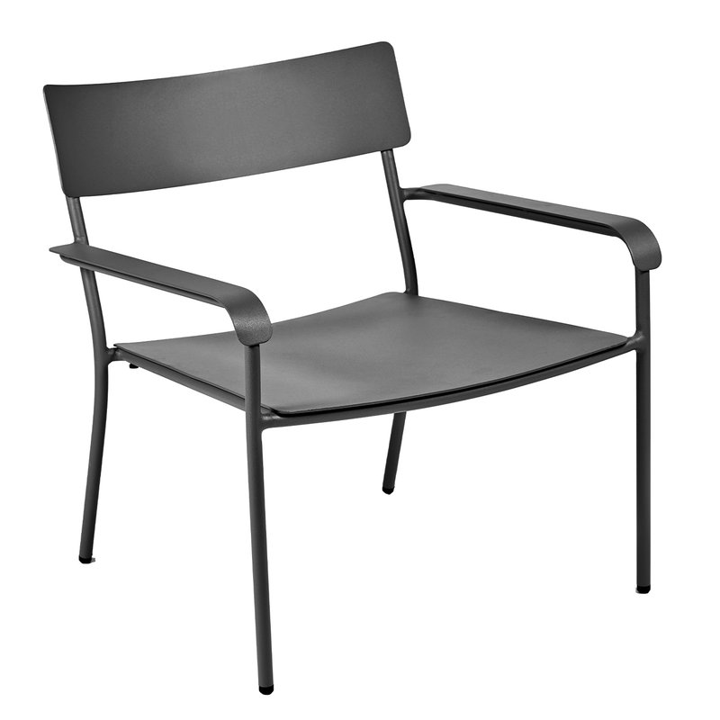 Serax August lounge chair, black