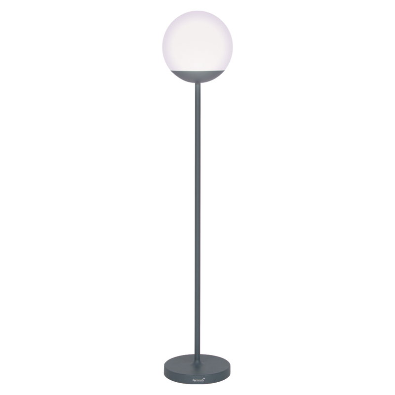 Fermob Mooon! Tall floor lamp, storm grey