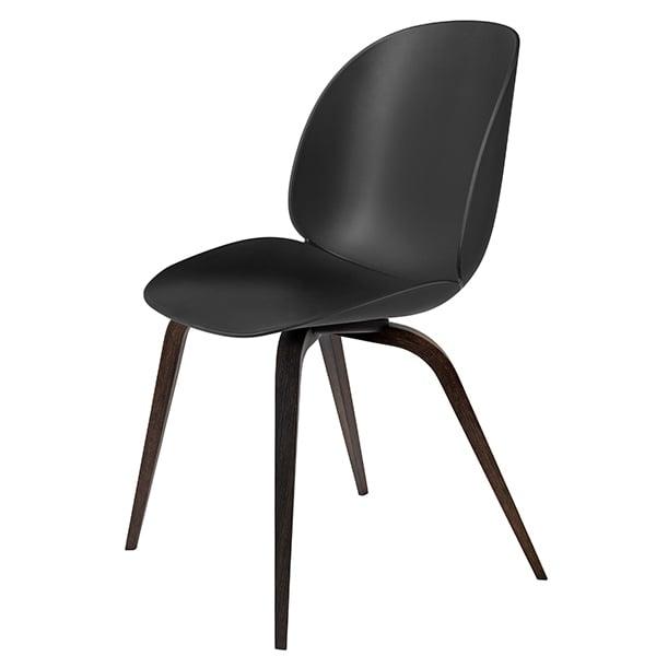 Gubi Beetle chair, smoked oak - black
