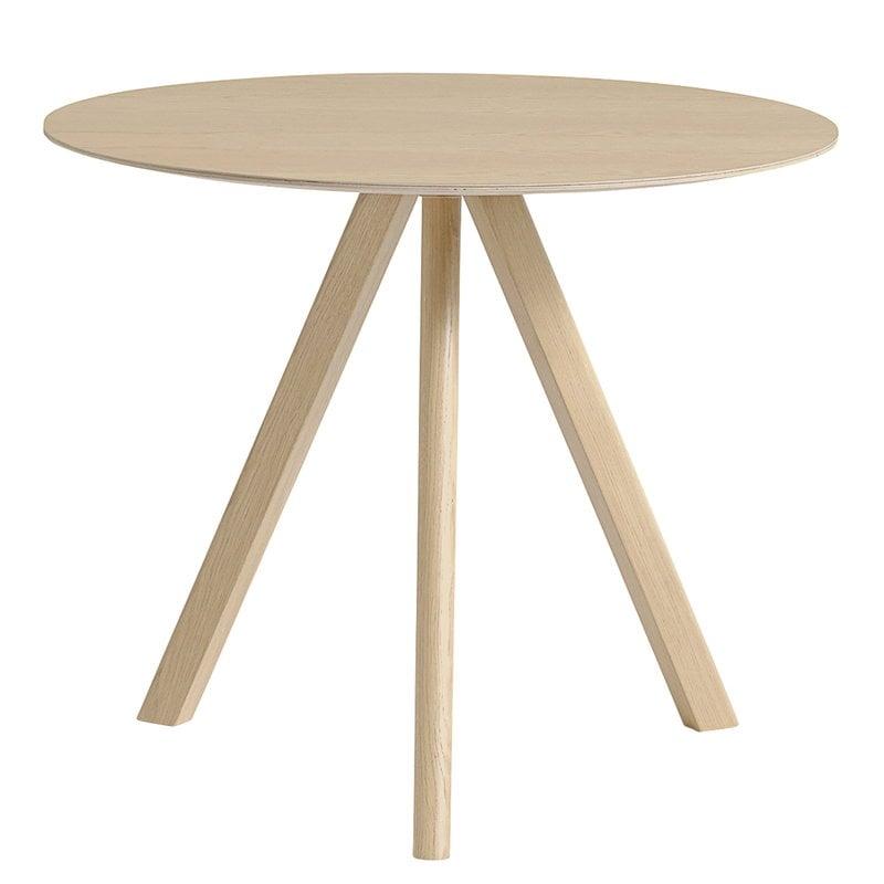 Hay CPH20 round table 90 cm, matt lacquered oak