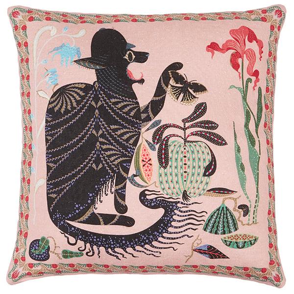 Klaus Haapaniemi Les Chats Monster cushion cover, linen