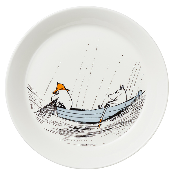 Arabia Moomin plate, True to Its Origins