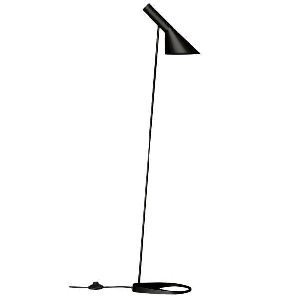 Louis Poulsen AJ floor light, black