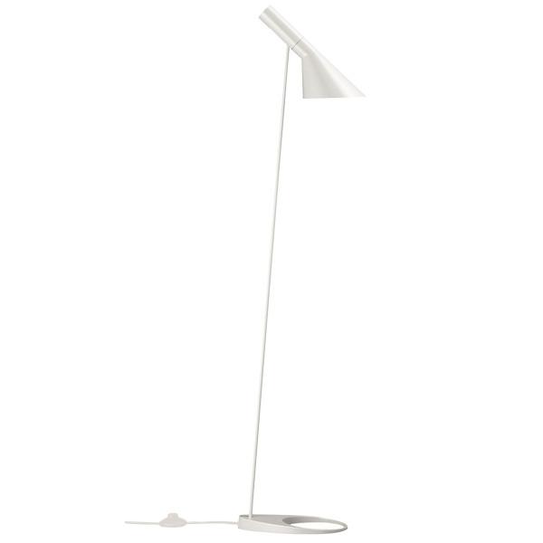Louis Poulsen AJ floor light, white