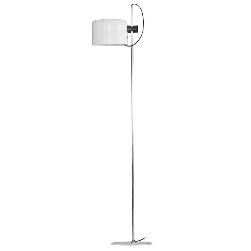 Oluce Coupé 3321 floor lamp, white