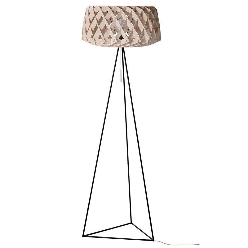 Showroom Finland Pilke 60 Tripod floor lamp, birch | Finnish Design Shop