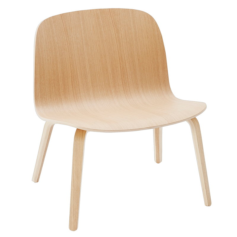 Muuto Visu lounge chair, oak