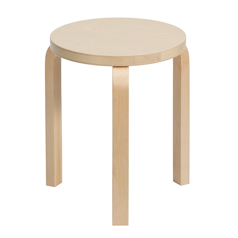Sensational Artek Aalto Stool 60 Birch Finnish Design Shop Forskolin Free Trial Chair Design Images Forskolin Free Trialorg