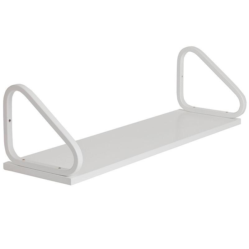 Artek Aalto wall shelf 112B, white