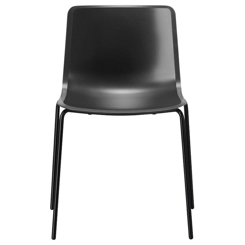 Fredericia Sedia Pato, 4 sedie, nera