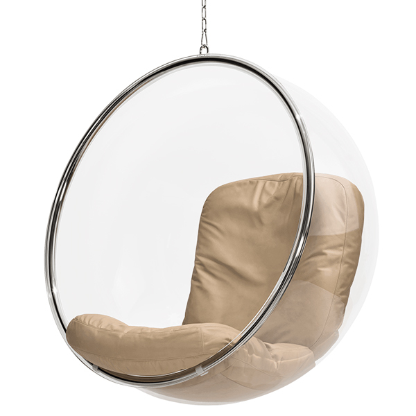 Eero Aarnio Originals Sedia Bubble Chair, naturale