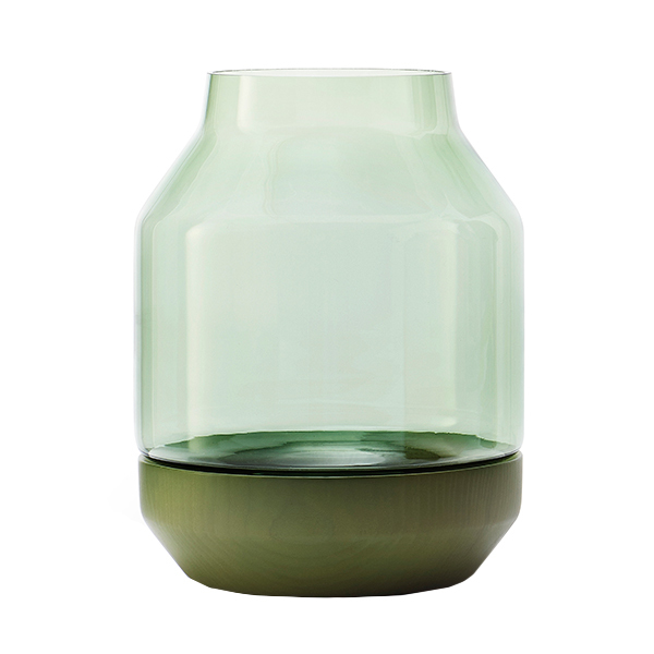 Muuto Elevated vase, green