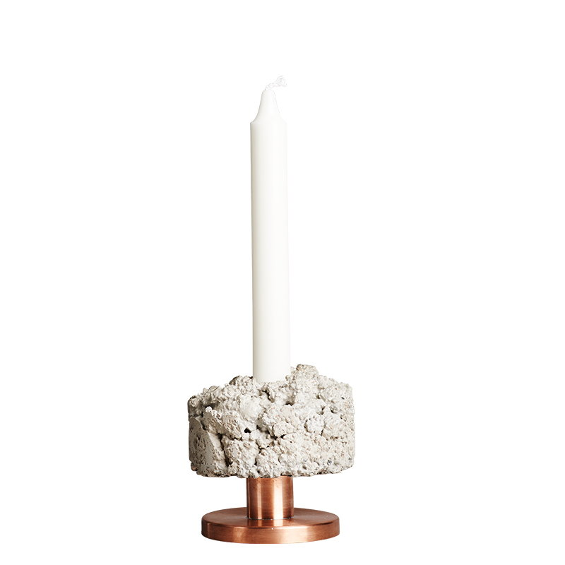 New Works Crowd candleholder, Rough Billy