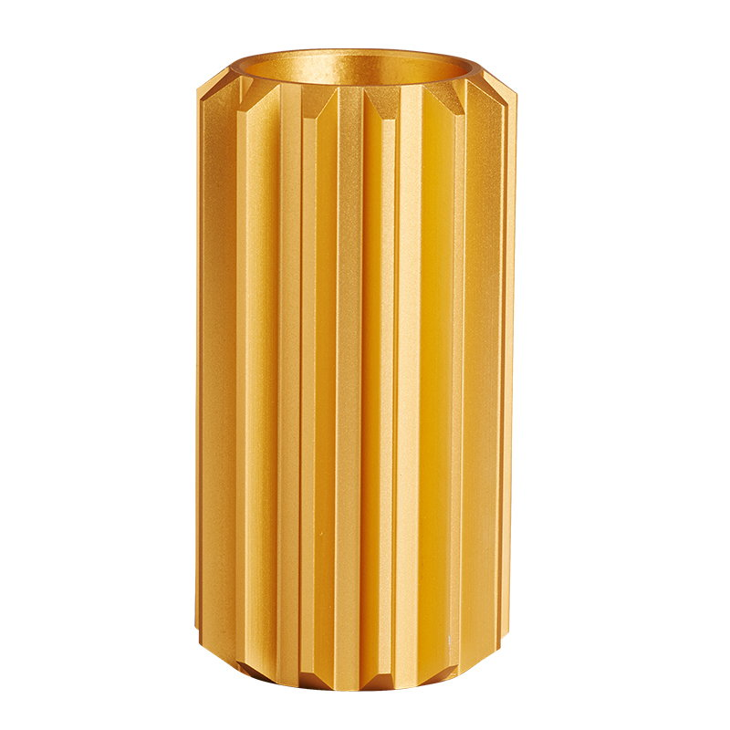 New Works Gear candleholder, gold, high