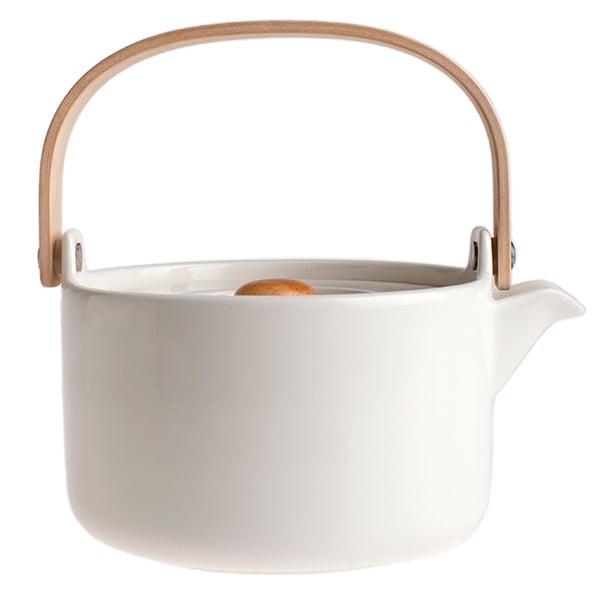 Marimekko Oiva teekannu 0,7 L, valkoinen