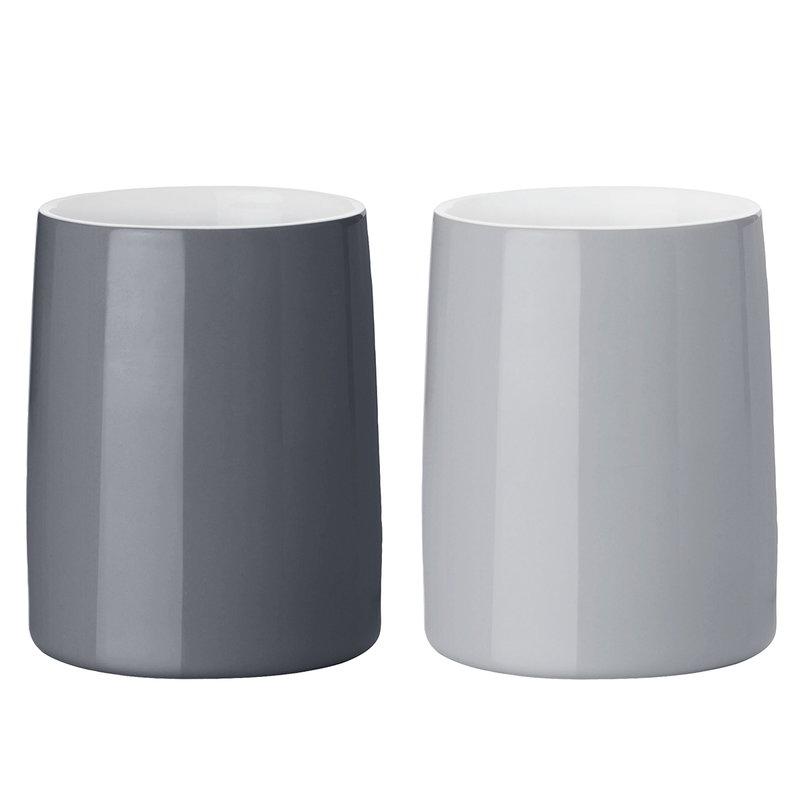 Stelton Emma thermo cup 2 pcs, grey
