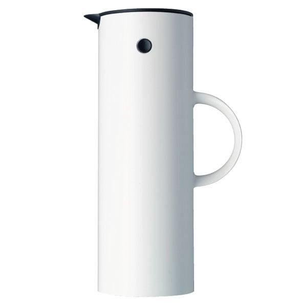 Stelton EM77 vacuum jug 1,0 L, white