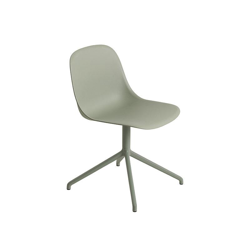 muuto fiber side chair swivel base dusty green finnish. Black Bedroom Furniture Sets. Home Design Ideas