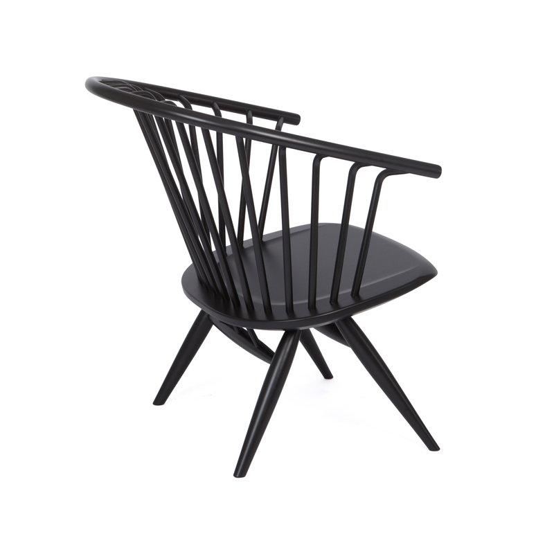 Artek sedia crinolette nera finnish design shop for Sedia design nera