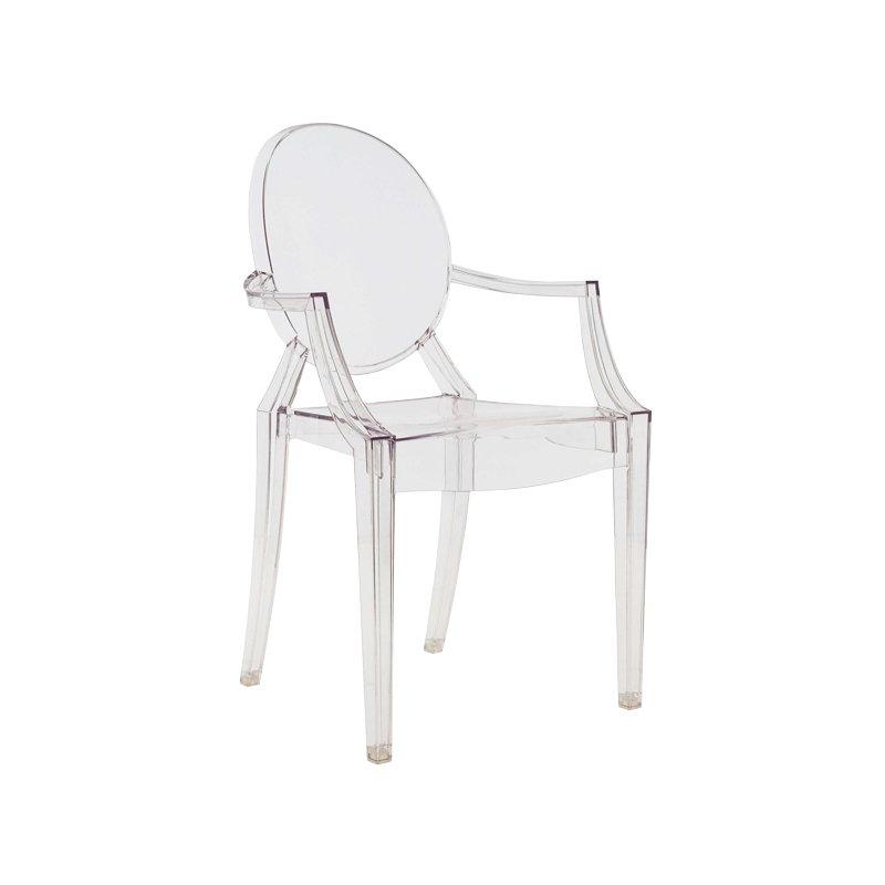 Louis Ghost chair, clear