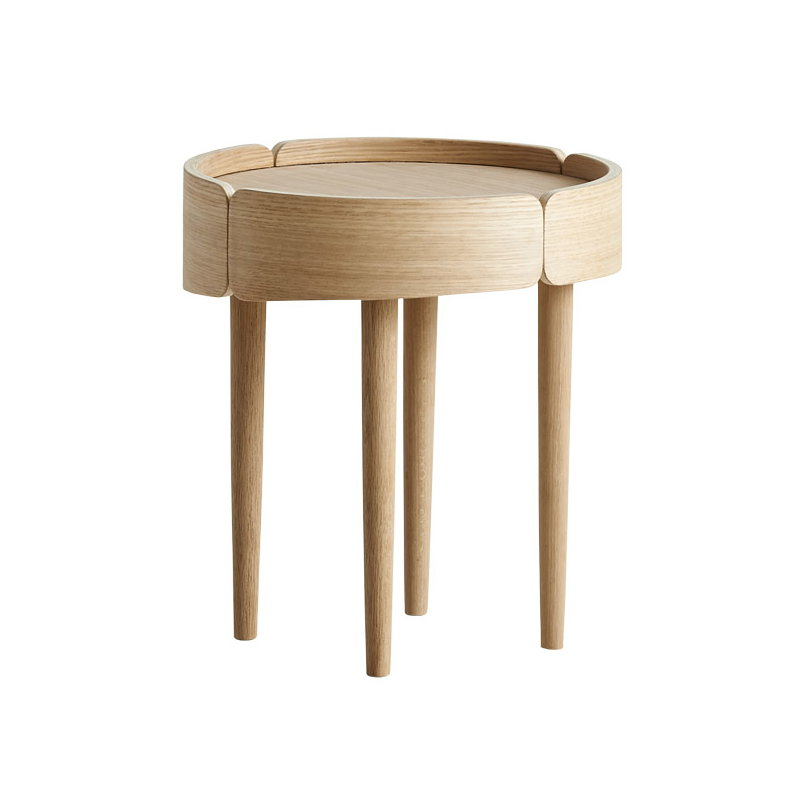 Woud Skirt Coffee Table Small Oak Finnish Design Shop