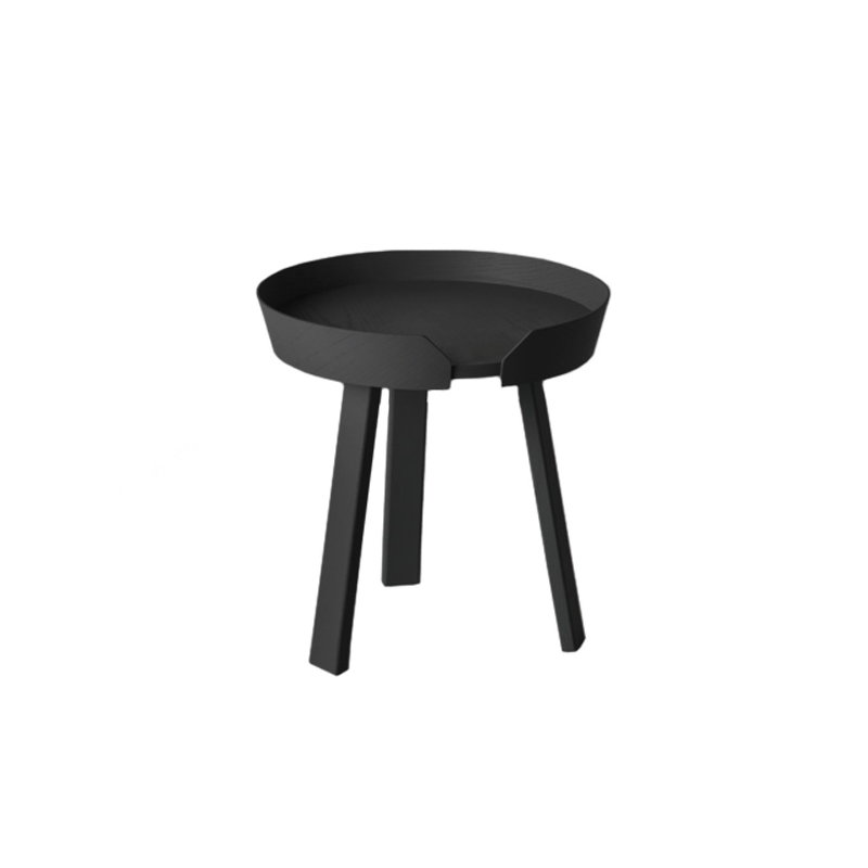 Muuto around table small black finnish design shop for Small black table