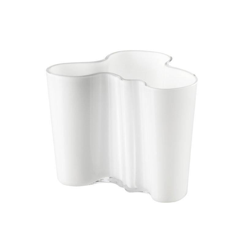 iittala aalto vase 120 mm white finnish design shop. Black Bedroom Furniture Sets. Home Design Ideas