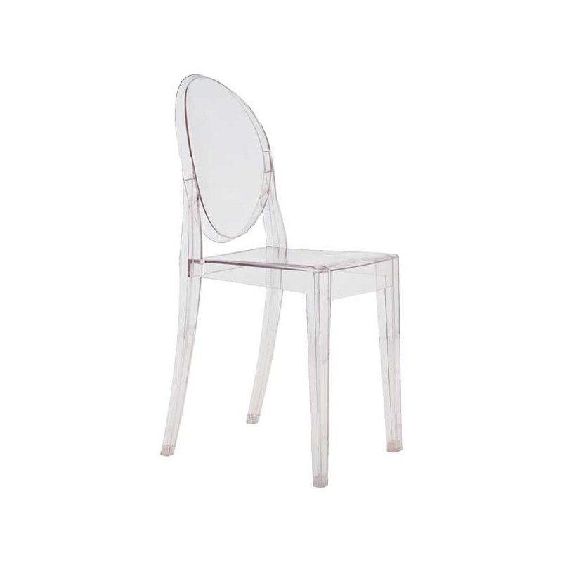 Kartell sedia victoria ghost trasparente finnish design - Sedia kartell trasparente ...