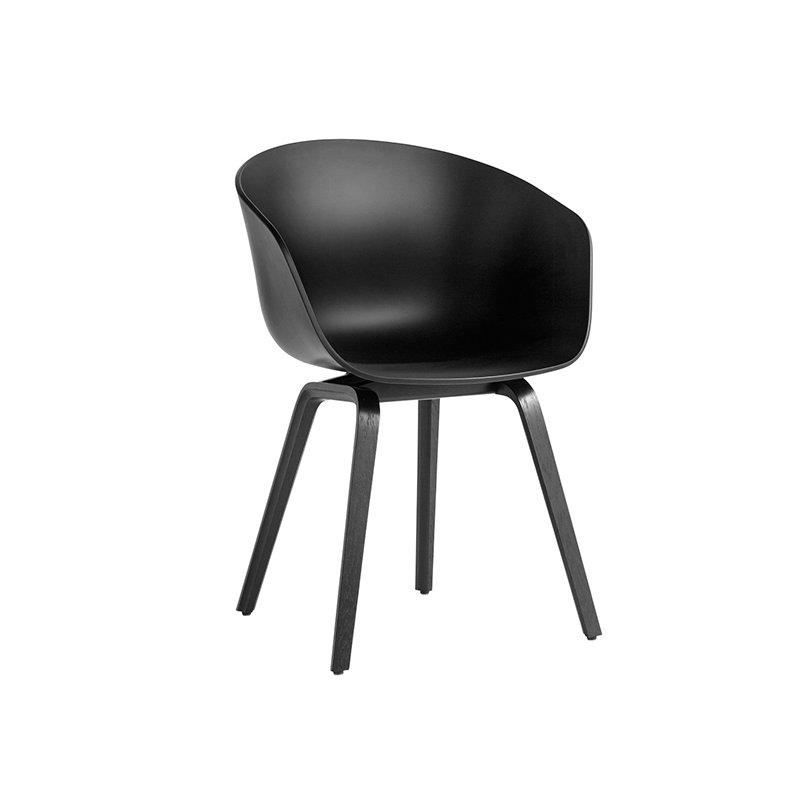 Hay About A Chair AAC22, soft black   Finnish Design Shop