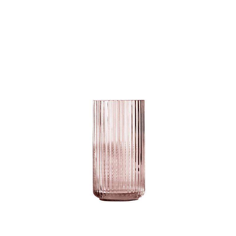 lyngby glass vase 20 cm burgundy finnish design shop. Black Bedroom Furniture Sets. Home Design Ideas