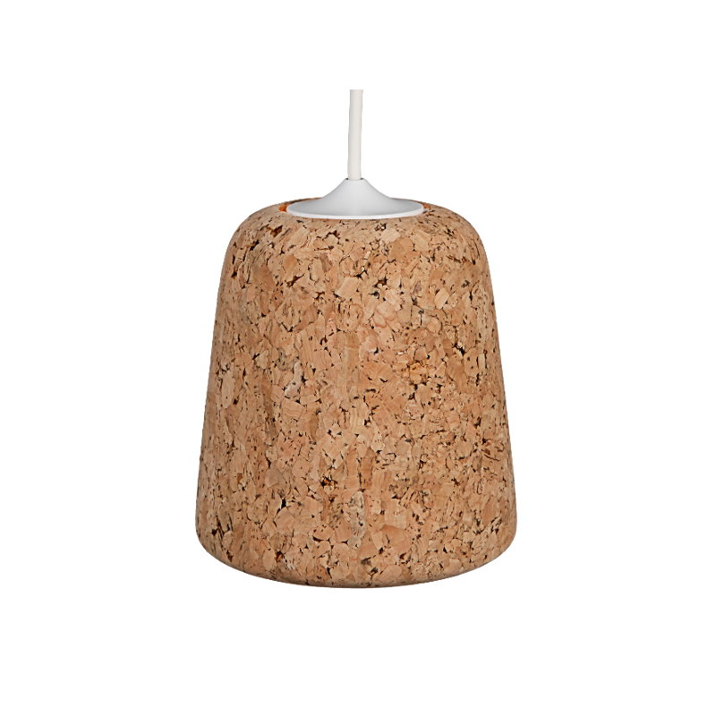 Salt Lamps Cork : New Works Material lamp, Cork Light Finnish Design Shop