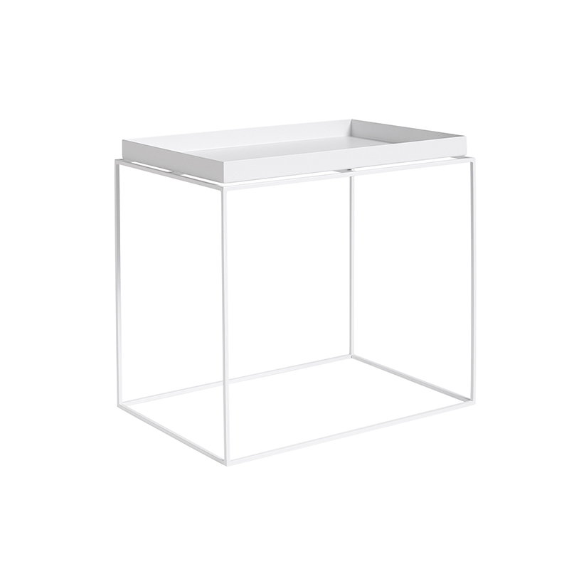 Hay tavolo vassoio rettangolare bianco finnish design shop for Tavolo rettangolare bianco