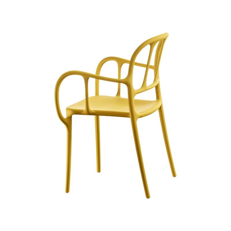 Magis mila chair yellow finnish design shop for Sedia design gialla