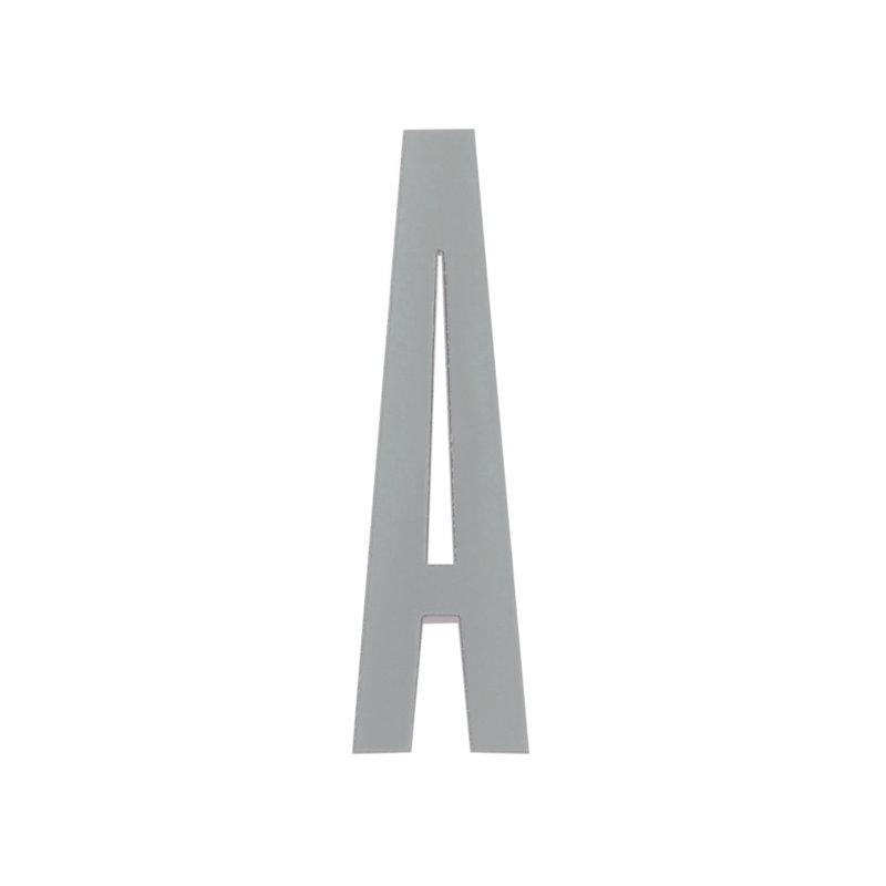 design letters arne jacobsen wooden letter grey a finnish design shop. Black Bedroom Furniture Sets. Home Design Ideas