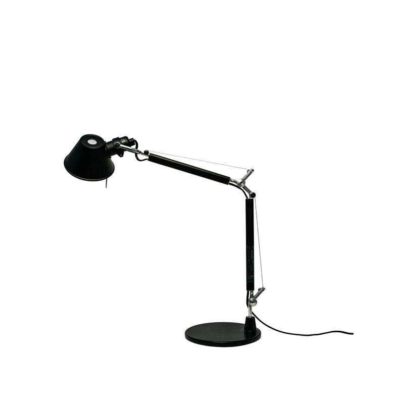 Artemide Tolomeo Micro table lamp black Finnish Design Shop